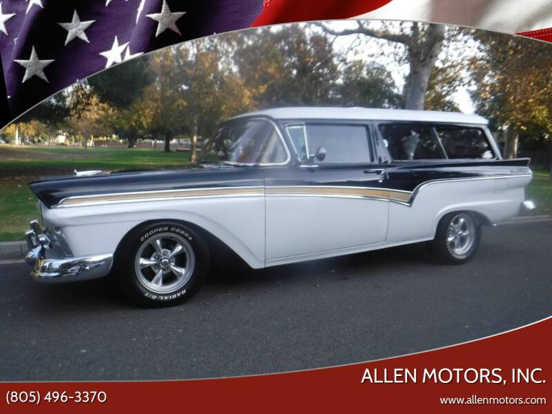 1957 Ford Ranch Wagon for sale at Allen Motors, Inc. in Thousand Oaks CA