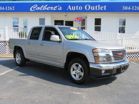 2012 GMC Canyon for sale at Colbert's Auto Outlet in Hickory NC