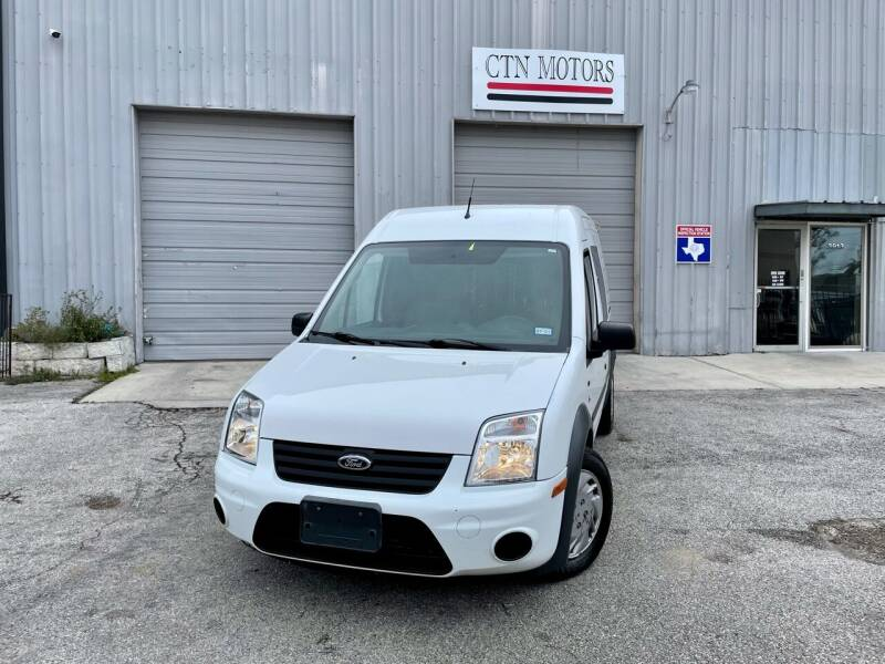 2013 Ford Transit Connect for sale at CTN MOTORS in Houston TX