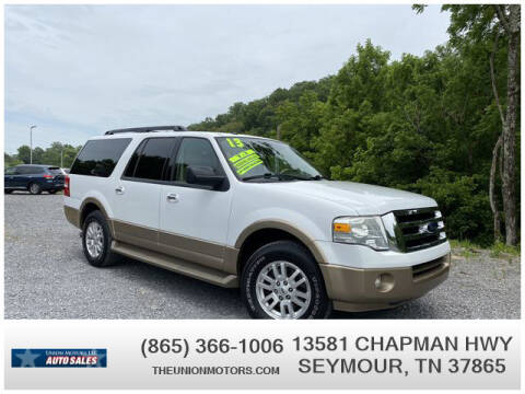 2013 Ford Expedition EL for sale at Union Motors in Seymour TN