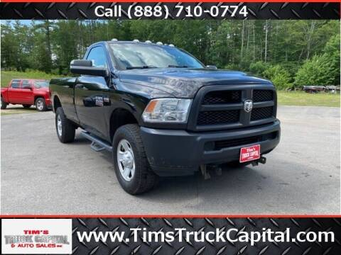 2016 RAM Ram Pickup 2500 for sale at TTC AUTO OUTLET/TIM'S TRUCK CAPITAL & AUTO SALES INC ANNEX in Epsom NH