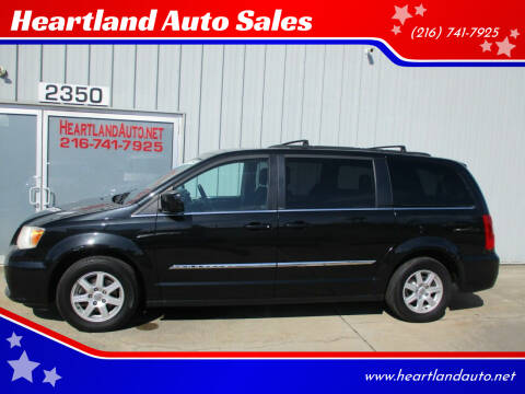 2011 Chrysler Town and Country for sale at Heartland Auto Sales in Medina OH