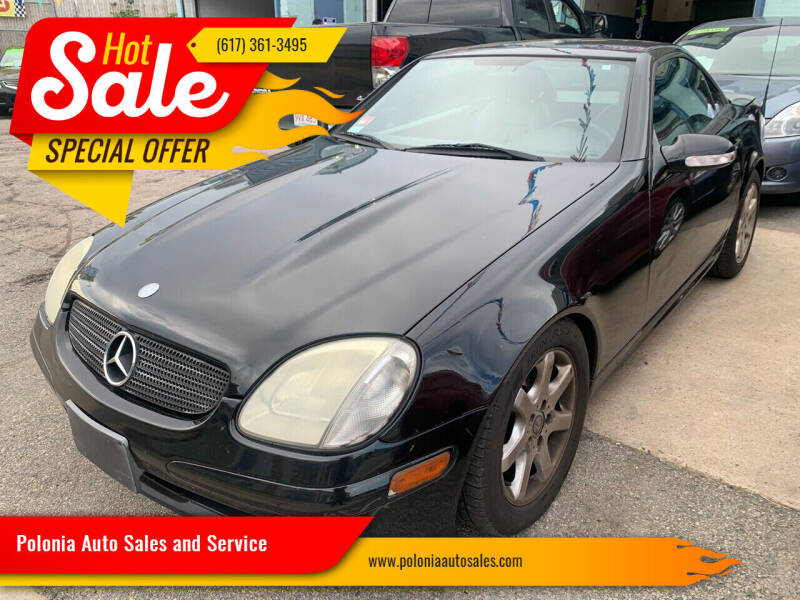 2001 Mercedes-Benz SLK for sale at Polonia Auto Sales and Service in Hyde Park MA