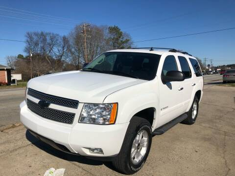 2007 Chevrolet Tahoe for sale at E Motors LLC in Anderson SC