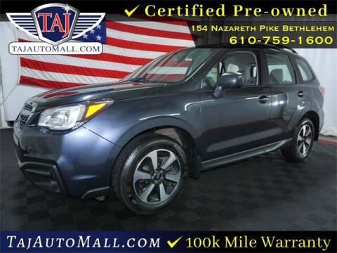 2018 Subaru Forester for sale at Taj Auto Mall in Bethlehem PA