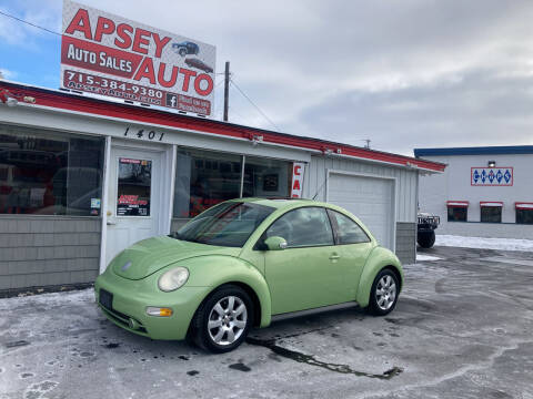 2003 Volkswagen New Beetle for sale at Apsey Auto in Marshfield WI