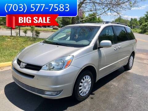 2005 Toyota Sienna for sale at Dreams Auto Group LLC in Sterling VA