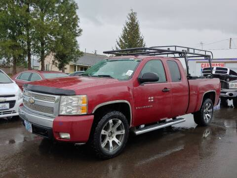 2007 Chevrolet Silverado 1500 for sale at M AND S CAR SALES LLC in Independence OR
