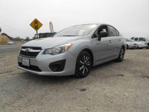2012 Subaru Impreza for sale at Mountain Auto in Jackson CA