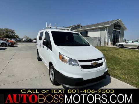 2015 Chevrolet City Express Cargo for sale at Auto Boss in Woods Cross UT