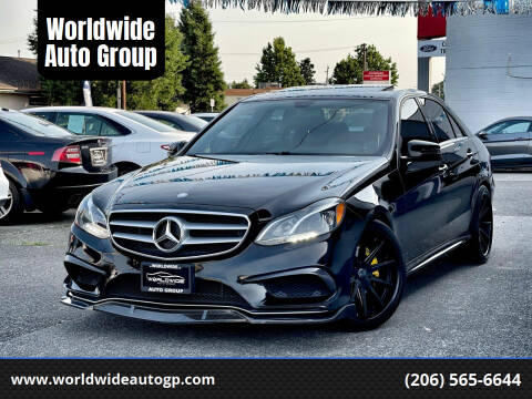 2014 Mercedes-Benz E-Class for sale at Worldwide Auto Group in Auburn WA