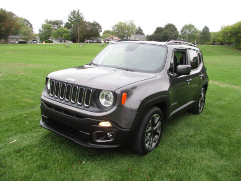 2018 Jeep Renegade for sale at Triangle Auto Sales in Elgin IL