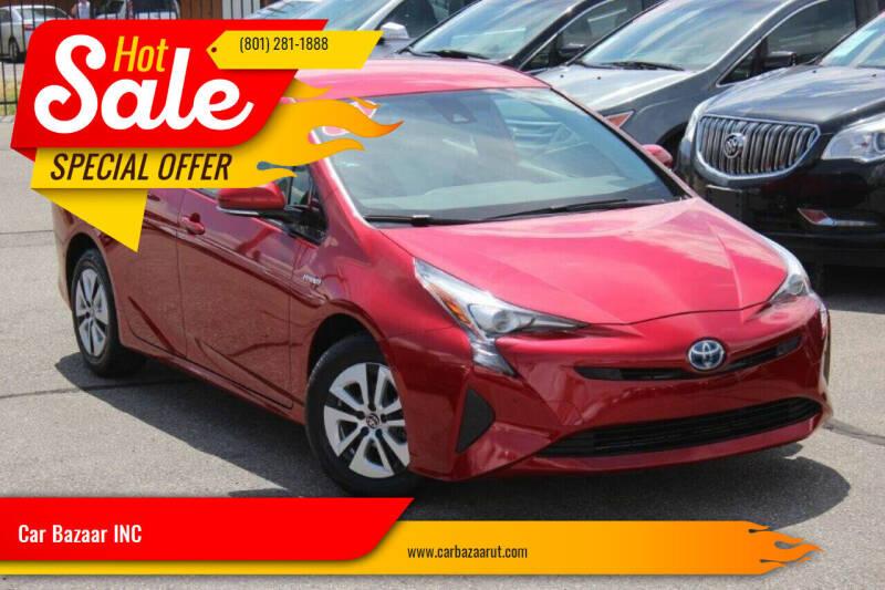 2017 Toyota Prius for sale at Car Bazaar INC in Salt Lake City UT