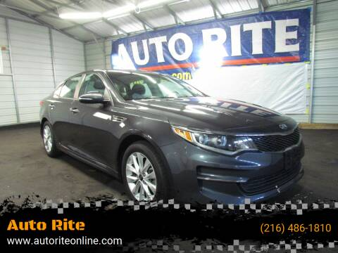 2017 Kia Optima for sale at Auto Rite in Cleveland OH