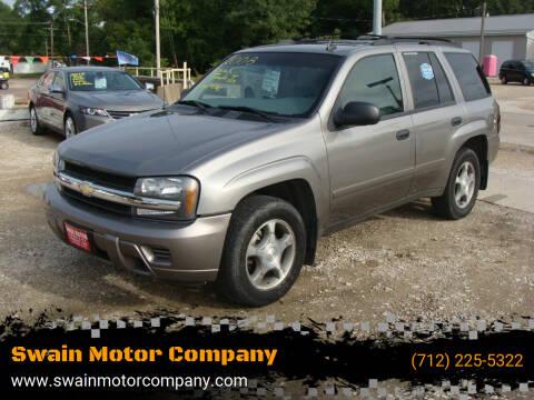 2008 Chevrolet TrailBlazer for sale at Swain Motor Company in Cherokee IA