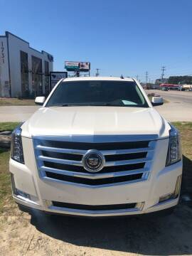 2015 Cadillac Escalade for sale at Gralin Hampton Auto Sales in Summerville SC