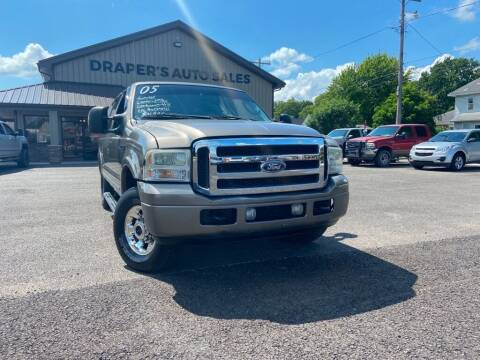 2005 Ford Excursion for sale at Drapers Auto Sales in Peru IN