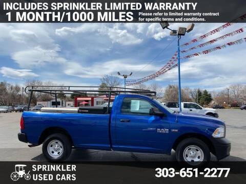 2015 RAM Ram Pickup 1500 for sale at Sprinkler Used Cars in Longmont CO