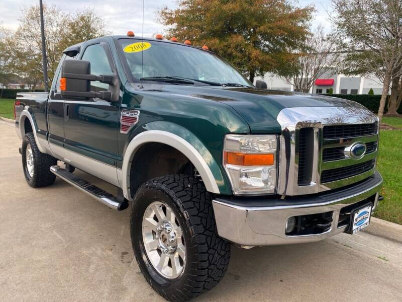 2008 Ford F-250 Super Duty for sale at UNITED AUTO WHOLESALERS LLC in Portsmouth VA
