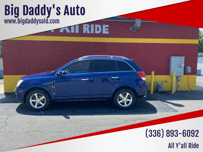 2012 Chevrolet Captiva Sport for sale at Big Daddy's Auto in Winston-Salem NC