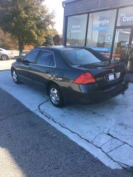 2007 Honda Accord for sale at Georgia Certified Motors in Stockbridge GA