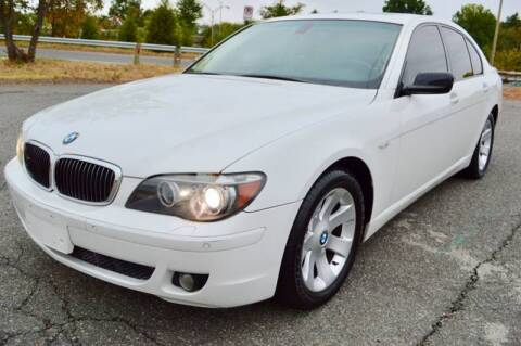 2007 BMW 7 Series for sale at Mid Atlantic Truck Center in Alexandria VA