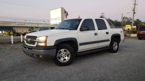 2003 Chevrolet Avalanche for sale at TOMI AUTOS, LLC in Panama City FL