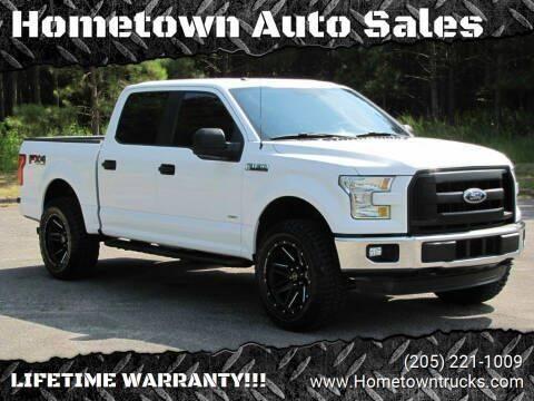 2016 Ford F-150 for sale at Hometown Auto Sales - Trucks in Jasper AL