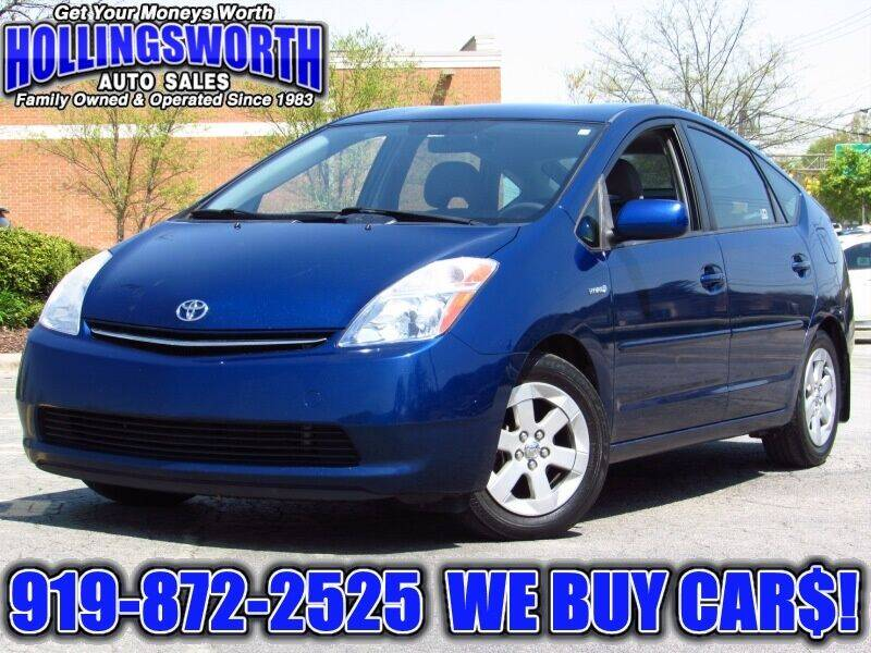 2009 Toyota Prius for sale at Hollingsworth Auto Sales in Raleigh NC