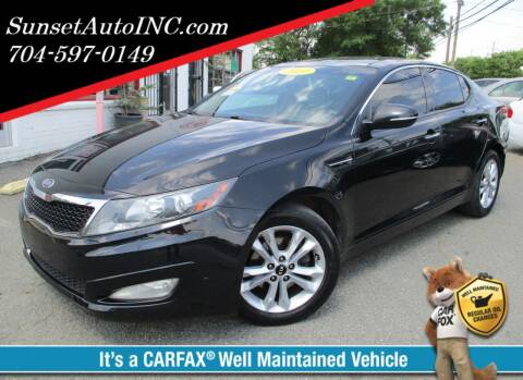 2011 Kia Optima for sale at Sunset Auto in Charlotte NC