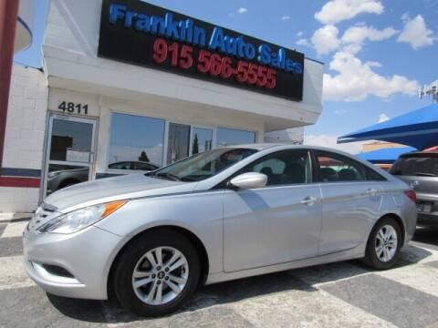 2013 Hyundai Sonata for sale at Franklin Auto Sales in El Paso TX