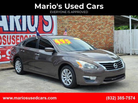 2015 Nissan Altima for sale at Mario's Used Cars - South Houston Location in South Houston TX