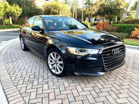 2013 Audi A6 for sale at AUTOSPORT MOTORS in Lake Park FL