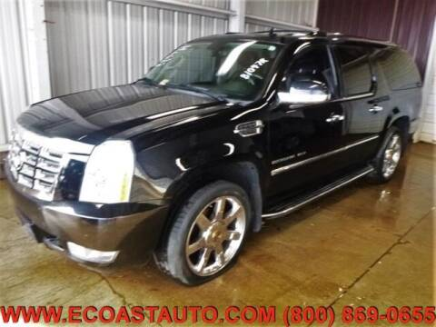 2010 Cadillac Escalade ESV for sale at East Coast Auto Source Inc. in Bedford VA