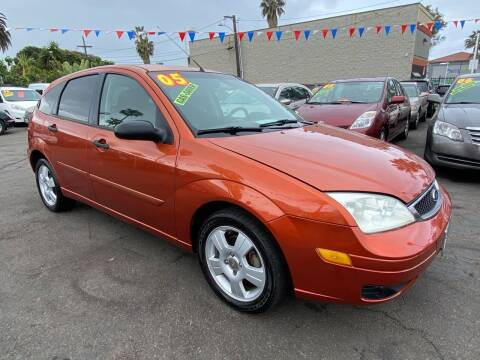 2005 Ford Focus for sale at North County Auto in Oceanside CA