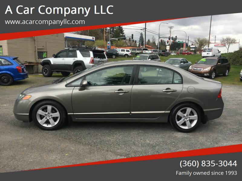 2007 Honda Civic for sale at A Car Company LLC in Washougal WA