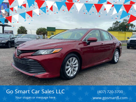 2018 Toyota Camry for sale at Go Smart Car Sales LLC in Winter Garden FL