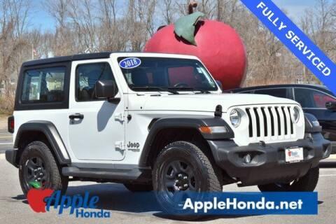 2018 Jeep Wrangler for sale at APPLE HONDA in Riverhead NY