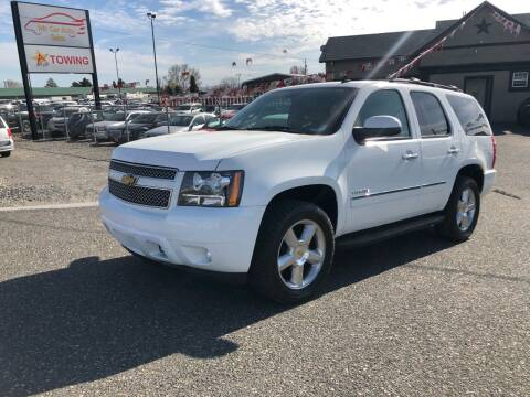 2013 Chevrolet Tahoe for sale at Mr. Car Auto Sales in Pasco WA