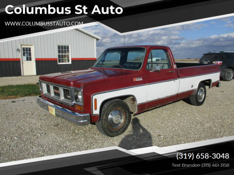 1974 GMC C/K 1500 Series for sale at Columbus St Auto in Crawfordsville IA