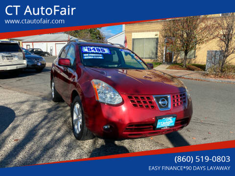 2008 Nissan Rogue for sale at CT AutoFair in West Hartford CT