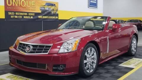 2009 Cadillac XLR for sale at UNIQUE SPECIALTY & CLASSICS in Mankato MN