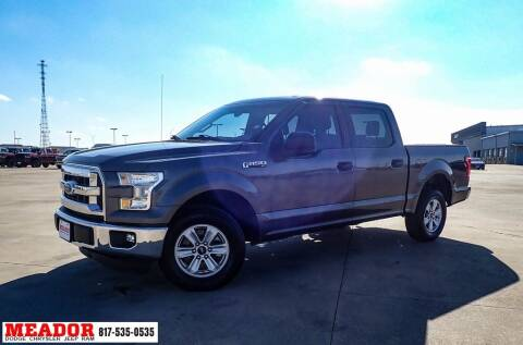 2015 Ford F-150 for sale at Meador Dodge Chrysler Jeep RAM in Fort Worth TX