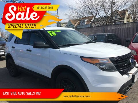 2015 Ford Explorer for sale at EAST SIDE AUTO SALES INC in Paterson NJ