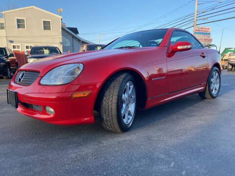 2001 Mercedes-Benz SLK for sale at Action Automotive Service LLC in Hudson NY