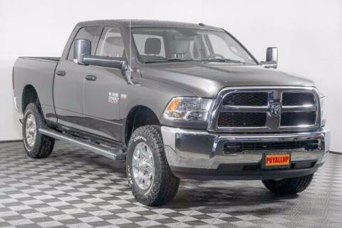 2018 RAM Ram Pickup 2500 for sale at Chevrolet Buick GMC of Puyallup in Puyallup WA