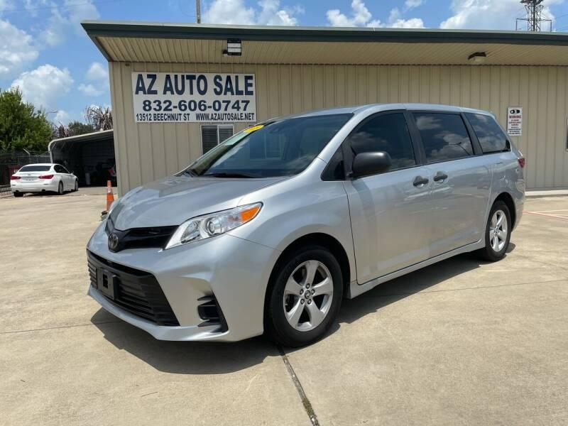 2019 Toyota Sienna for sale at AZ Auto Sale in Houston TX