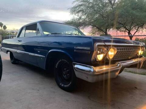 1963 Chevrolet Impala for sale at Classic Car Deals in Cadillac MI