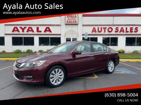 2013 Honda Accord for sale at Ayala Auto Sales in Aurora IL