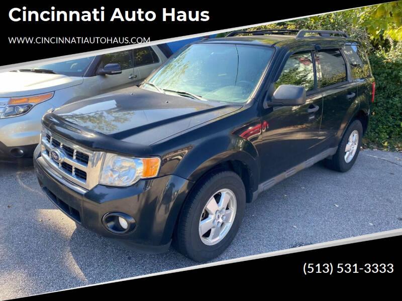 2011 Ford Escape for sale at Cincinnati Auto Haus in Cincinnati OH